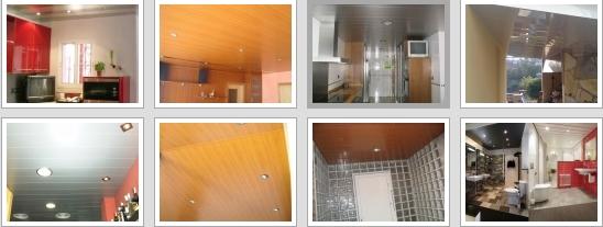 Falsos techos de aluminio Barcelona