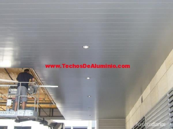 Techos Albacete plata mate