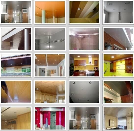 Falsos techos de aluminio Mostoles