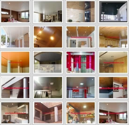 Falsos techos de aluminio Valladolid