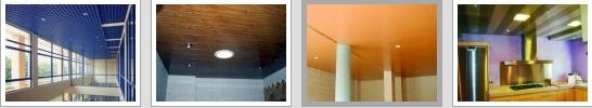 Falsos techos de aluminio Sevilla