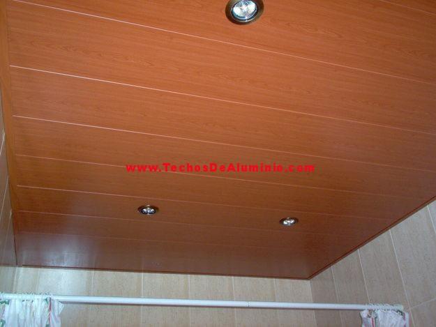 Techos Albacete madera nogal