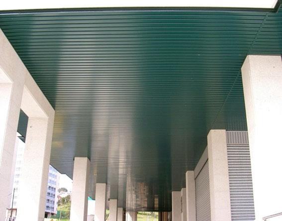 Techos Granada verde
