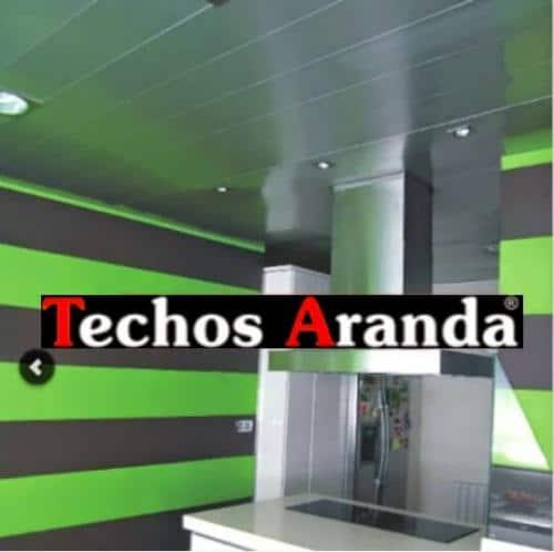 Techos aluminio verde